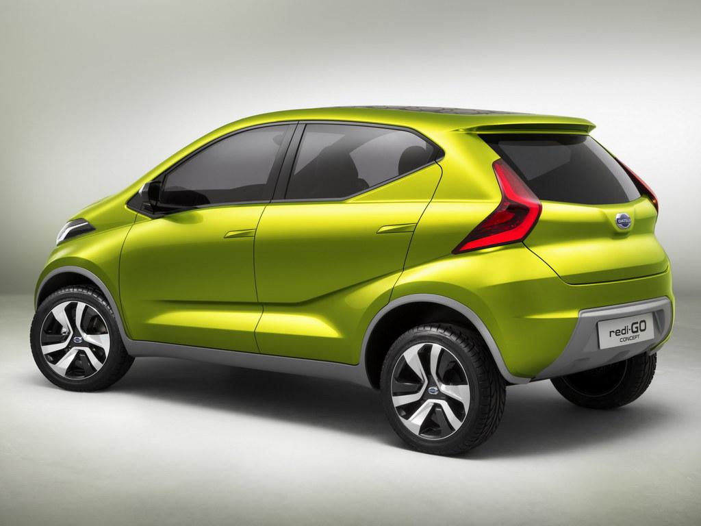 Datsun redi-GO Concept Unveiled in Delhi