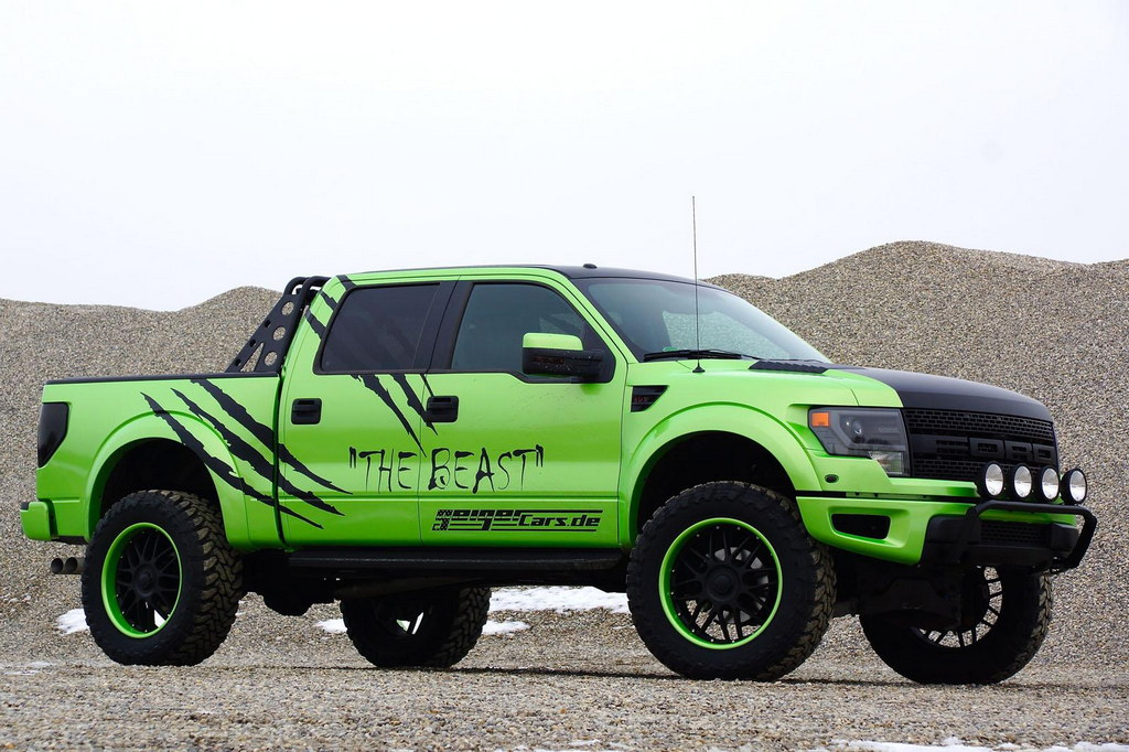Ford F 150 Raptor By Geigercars The Beast