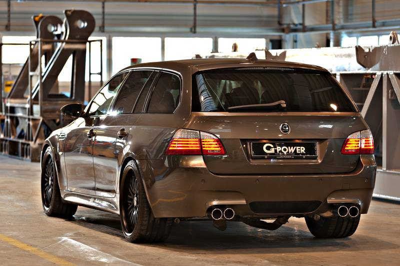 g power bmw m5 e61 touring with 820 horsepower. Black Bedroom Furniture Sets. Home Design Ideas