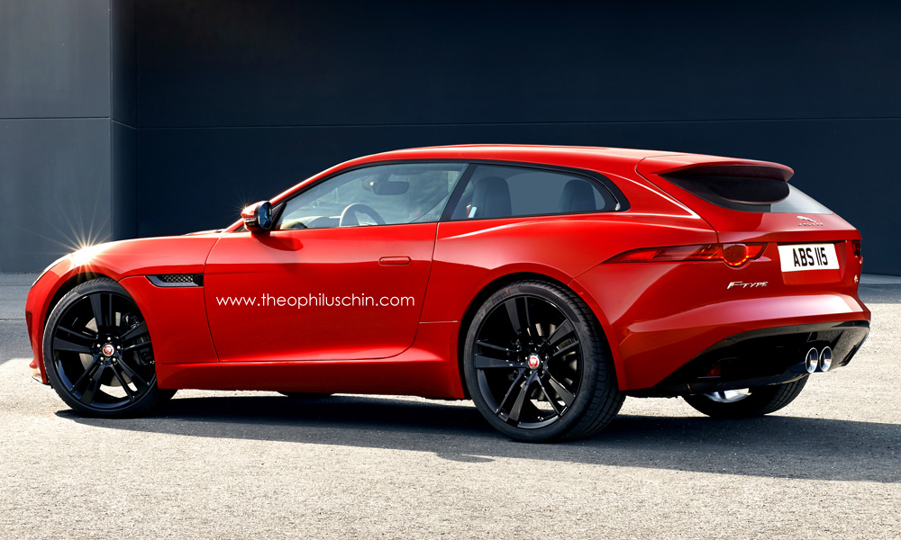 rendering jaguar f type shooting brake. Black Bedroom Furniture Sets. Home Design Ideas