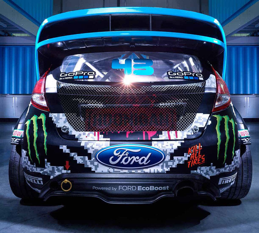 Ken Block Starts A Busy 2014 Season With New Livery