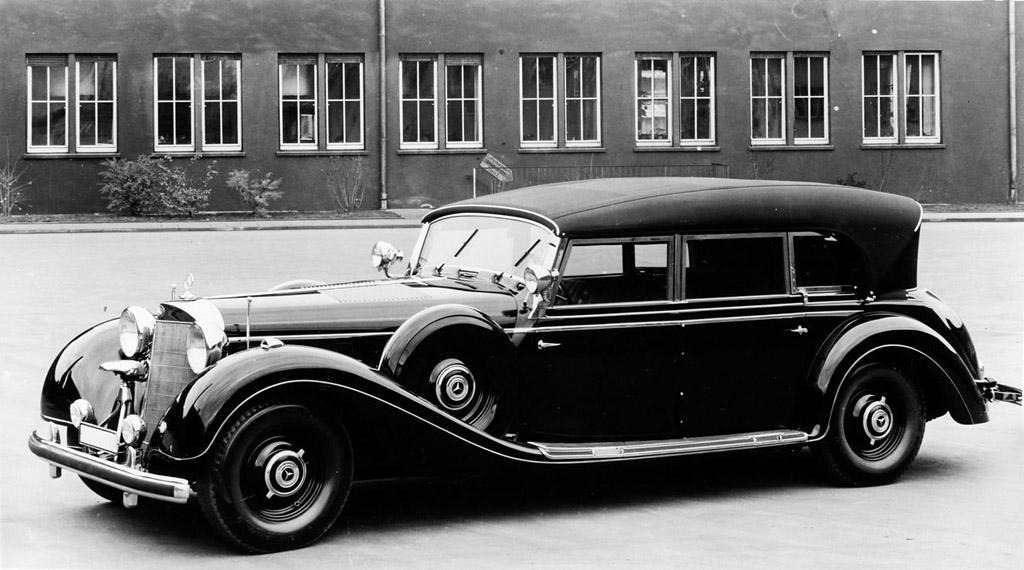 history of mercedes luxury limousines 1903 2013. Black Bedroom Furniture Sets. Home Design Ideas