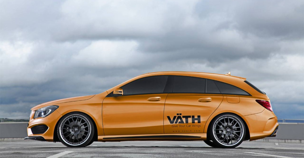 Rendering Mercedes Cla Shooting Brake By Vath