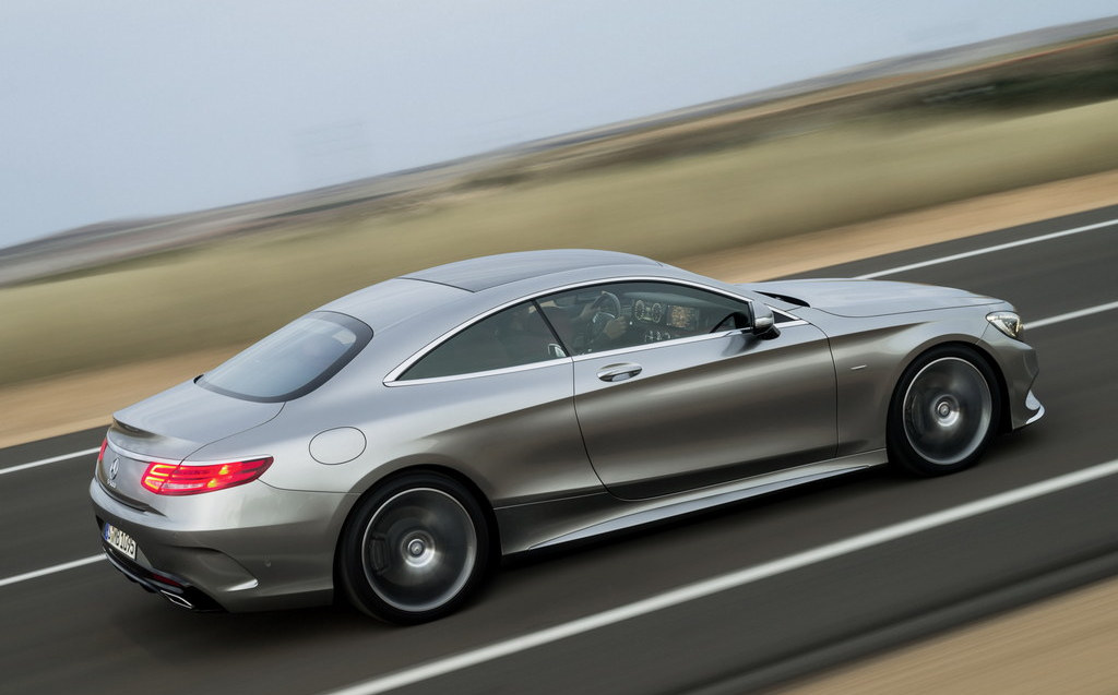 Mercedes s class coupe first official pictures for How much is a 2014 mercedes benz s550