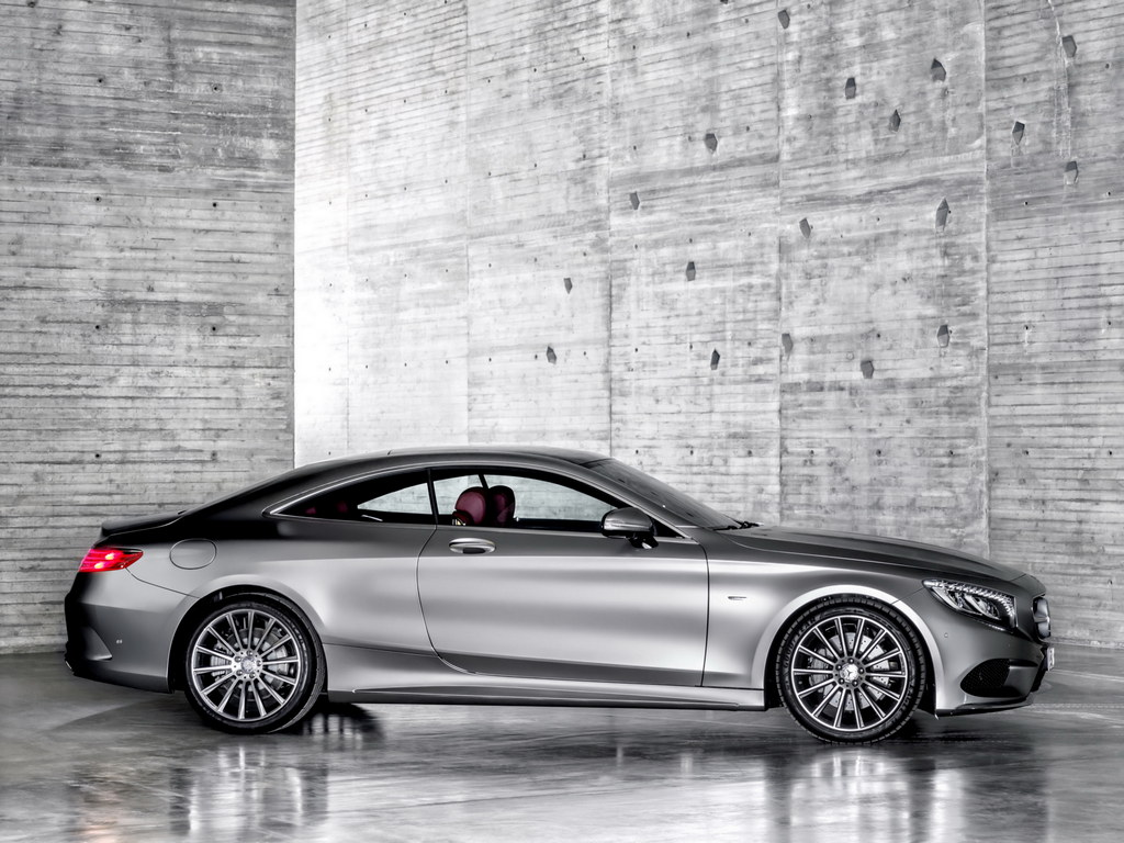 mercedes s class coupe first official pictures. Black Bedroom Furniture Sets. Home Design Ideas