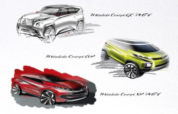Mitsubishi 2014 Geneva Motor Show Lineup 600x386 at Mitsubishi Reveals 2014 Geneva Motor Show Lineup