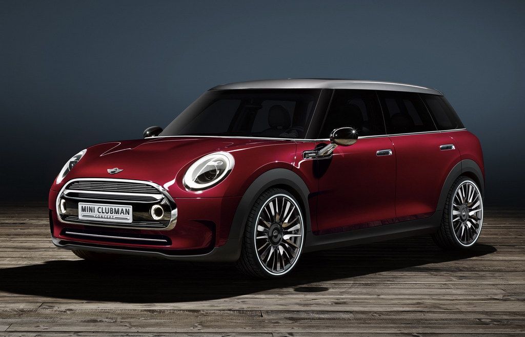 new mini clubman set for geneva debut. Black Bedroom Furniture Sets. Home Design Ideas