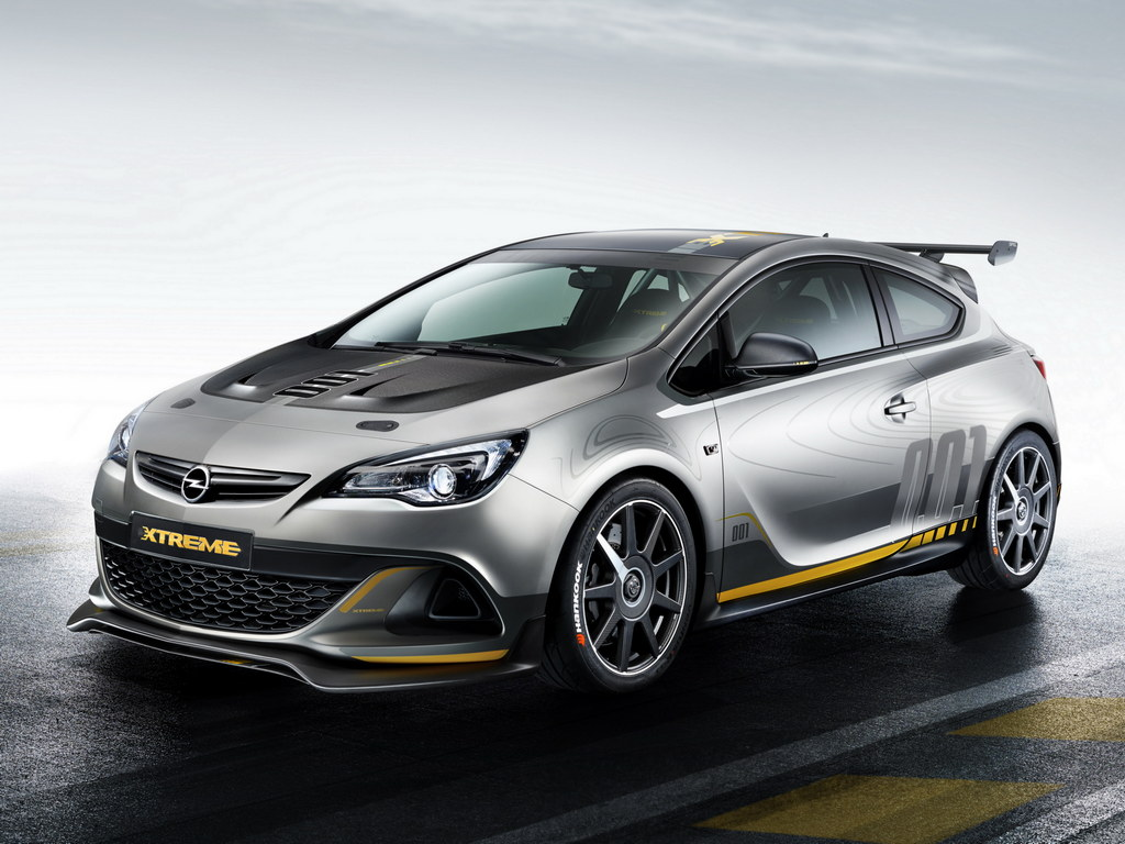 opel astra vxr extreme unveiled ahead of geneva. Black Bedroom Furniture Sets. Home Design Ideas