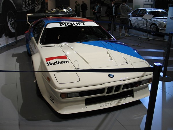 "Piquet BMW M1 Procar 600x450 at 40 Years of BMW ""M"" History"