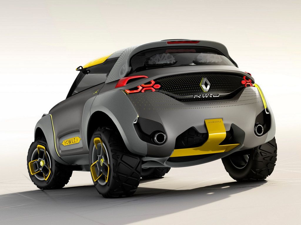 Renault Kwid Concept Revealed with Built-in Drone
