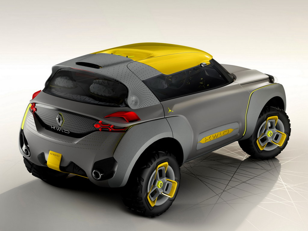 renault kwid concept revealed with built in drone. Black Bedroom Furniture Sets. Home Design Ideas