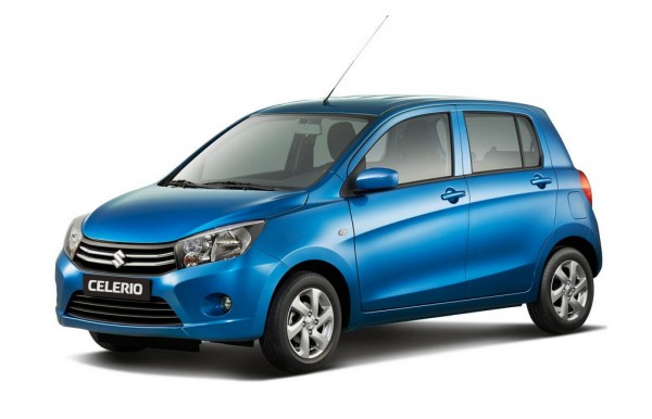 Suzuki Celerio 1 600x386 at Suzuki Celerio Announced for Geneva Motor Show