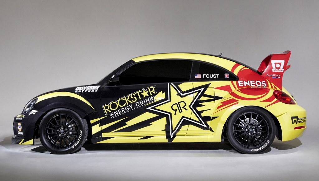 Vw Beetle Rallycross Car For Tanner Foust