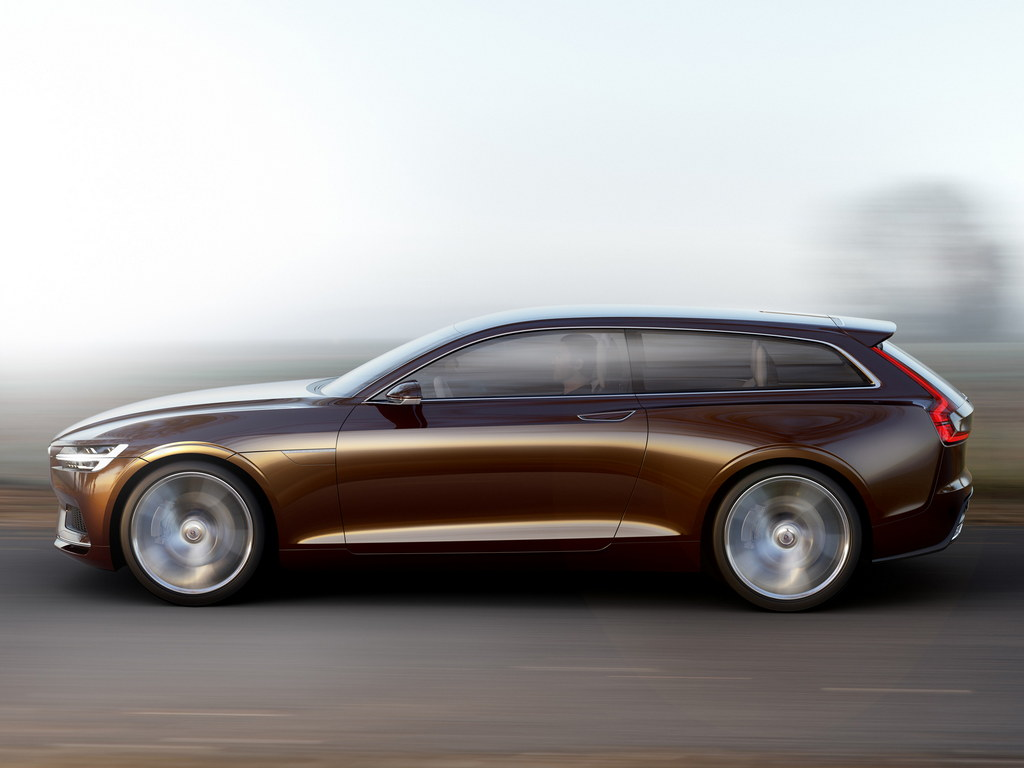 Volvo Concept Estate Official Details