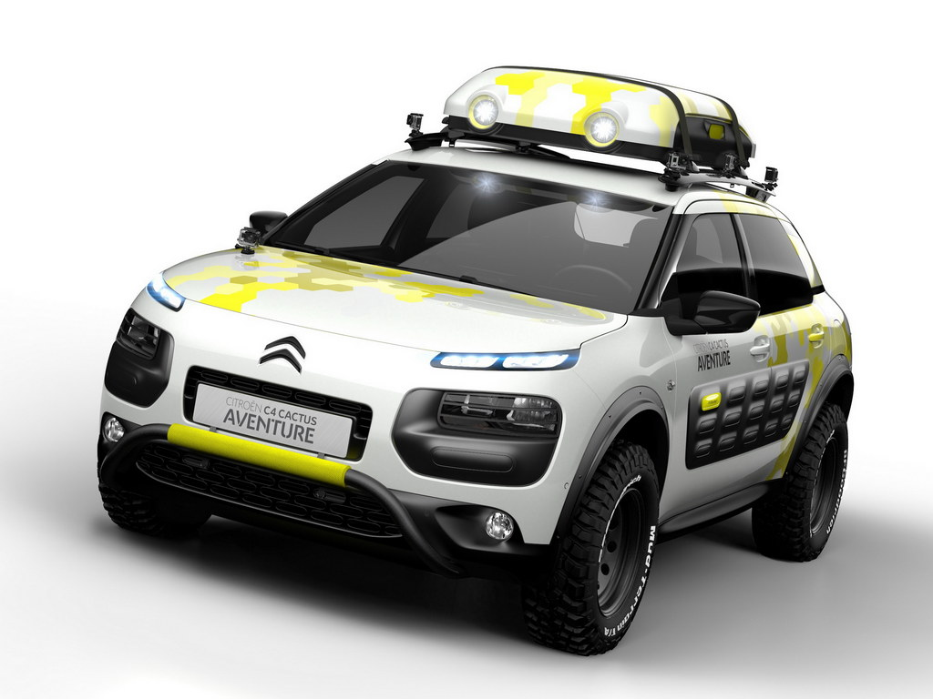 citroen c4 cactus aventure geneva preview. Black Bedroom Furniture Sets. Home Design Ideas