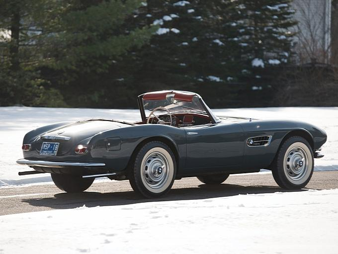 1958 Bmw 507 Roadster Sold For 2 4 Million At Amelia Concours