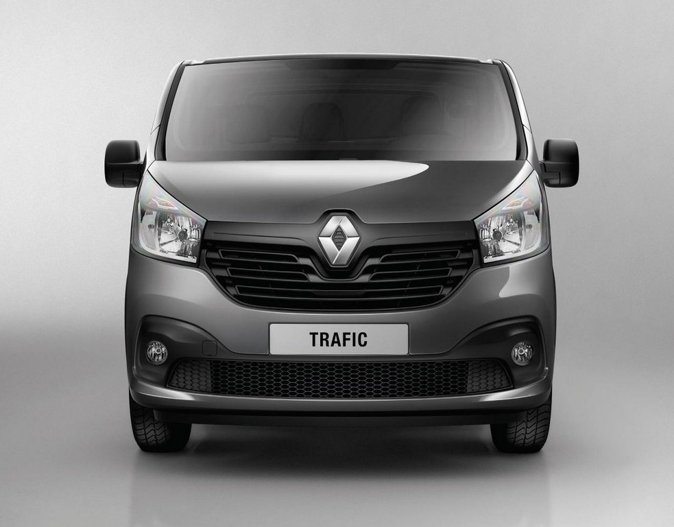 2014 renault traffic revealed with new 1 6 dci engine. Black Bedroom Furniture Sets. Home Design Ideas
