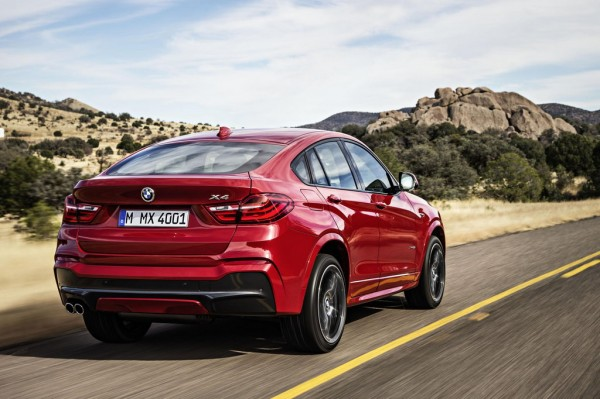 2015 BMW X4 UK 0 600x399 at 2015 BMW X4 UK Pricing Confirmed