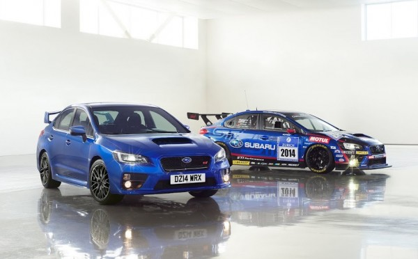 2015 Subaru WRX STI UK 600x372 at 2015 Subaru WRX STI UK Pricing Confirmed