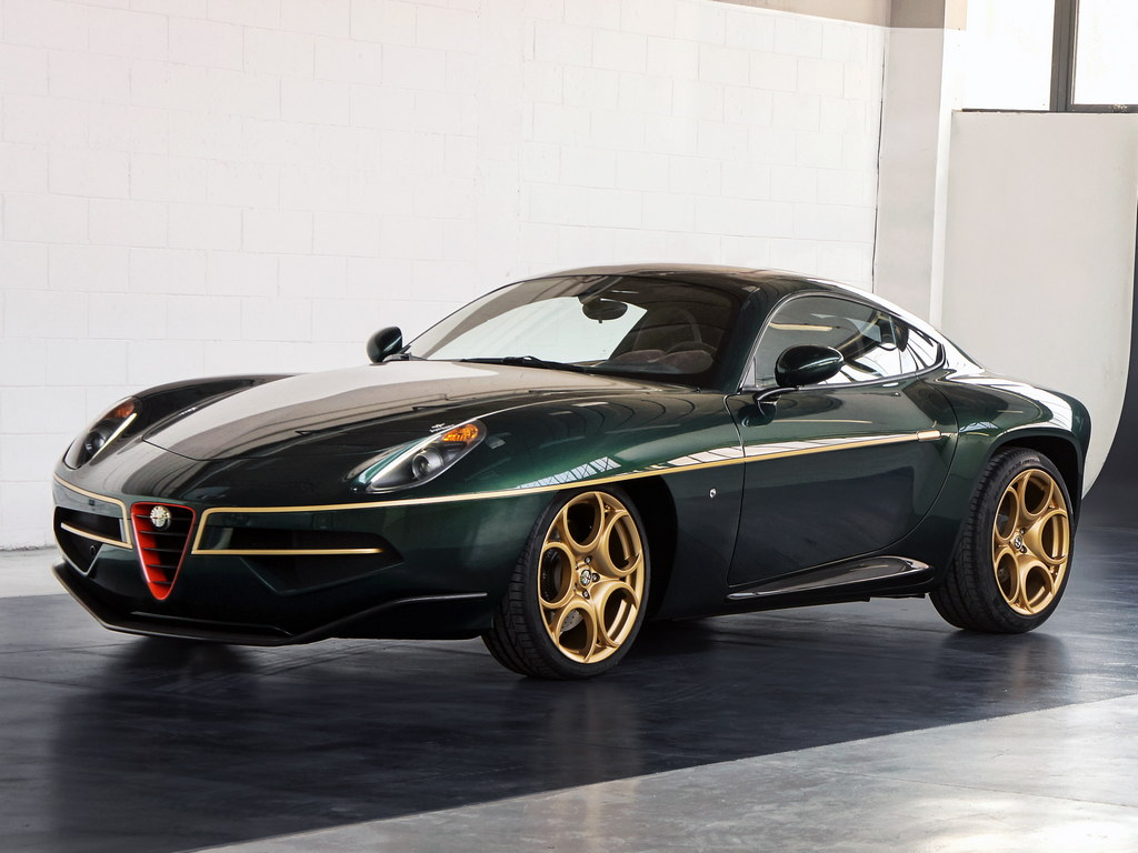 geneva preview alfa romeo disco volante in green. Black Bedroom Furniture Sets. Home Design Ideas