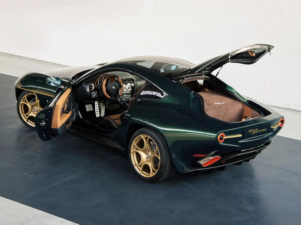 Geneva Preview: Alfa Romeo Disco Volante in Green - Motorward