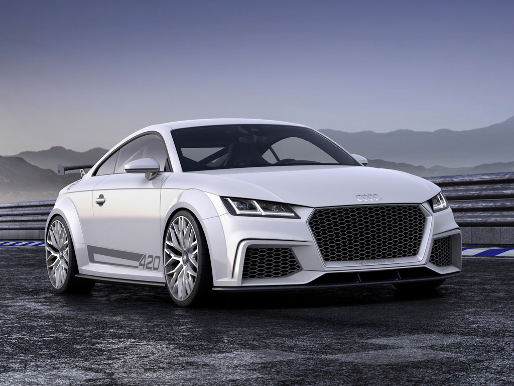 geneva 2014 audi tt quattro sport concept. Black Bedroom Furniture Sets. Home Design Ideas