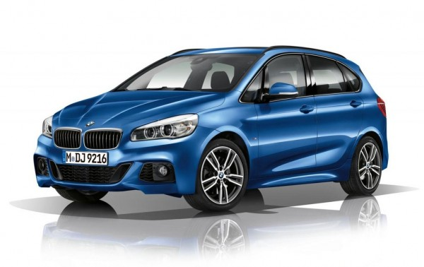 BMW 2 Series Active Tourer M Sport Kit 1 600x378 at BMW 2 Series Active Tourer M Sport Kit Revealed