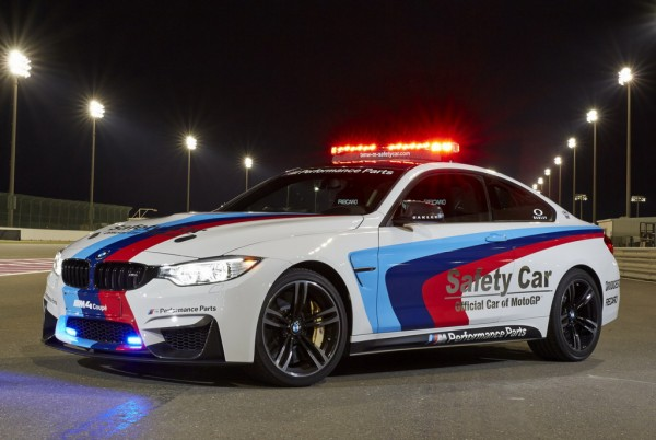 BMW M4 MotoGP Safety Car Off 600x402 at Hear the Roar of BMW M4 MotoGP Safety Car