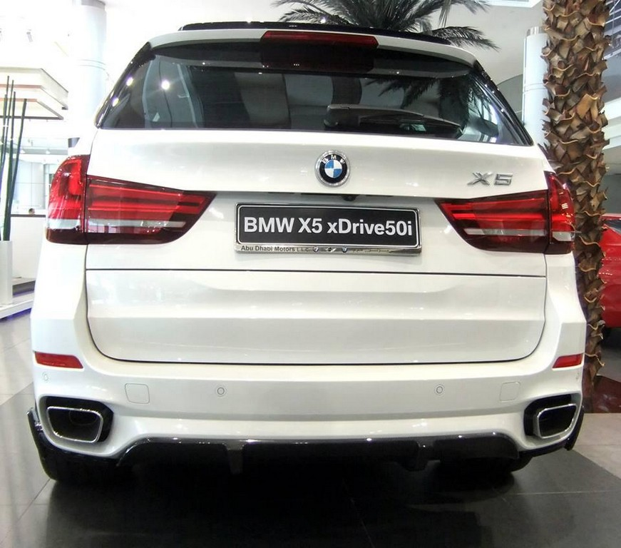 2014 BMW X5 M Performance at Abu Dhabi Motors