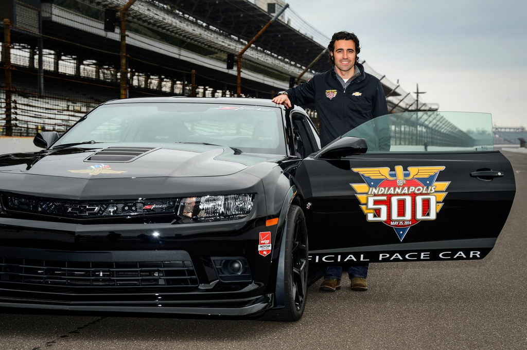 Dario Franchitti Unveils Camaro Z 28 Indy 500 Pace Car