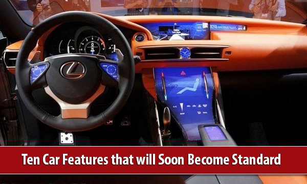 Futuristic Car at Ten Car Features that will Soon Become Standard