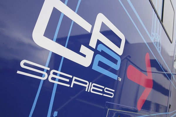 GP2 Series Logo at The Long Road from Karting to Formula One