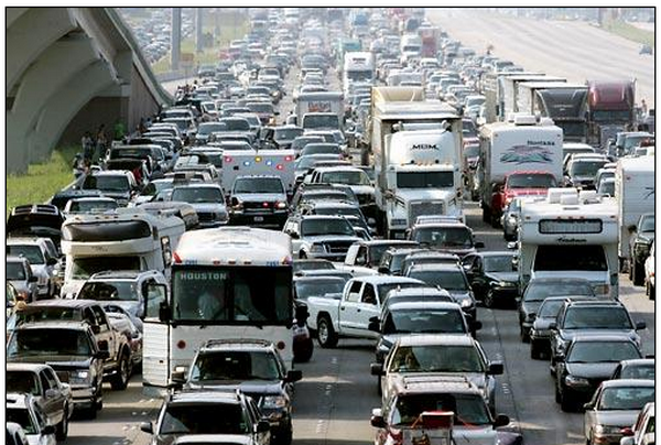 Houston1 at Largest Traffic Jams in History