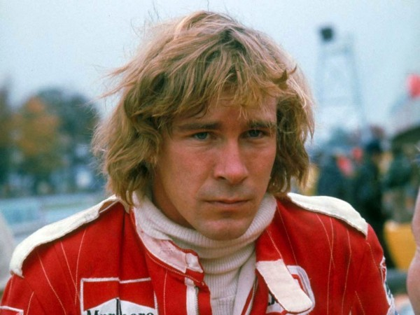 James Hunt 600x450 at Formula One Champions that Weren't Favorites Before the Last Race of the Season
