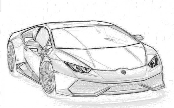 Lamborghini Huracan design explained 600x374 at This Is How Lamborghini Huracan Was Designed