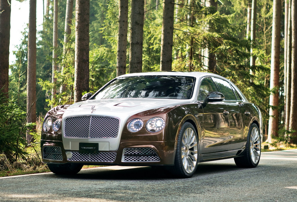 Geneva 2014: Mansory Bentley Flying Spur