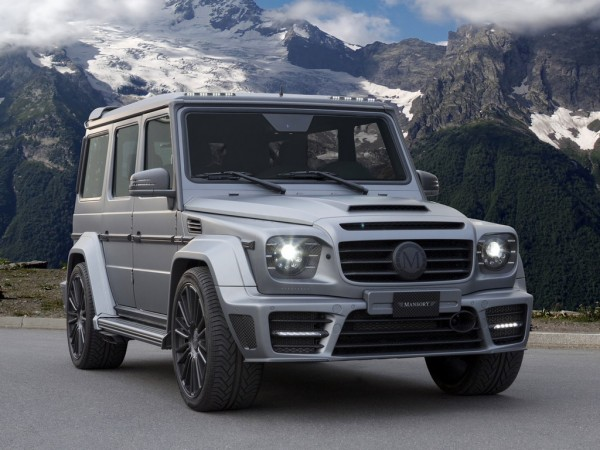Mansory Mercedes G63 Gronos 1 600x450 at Mansory Mercedes G63 Gronos with 840 Horsepower