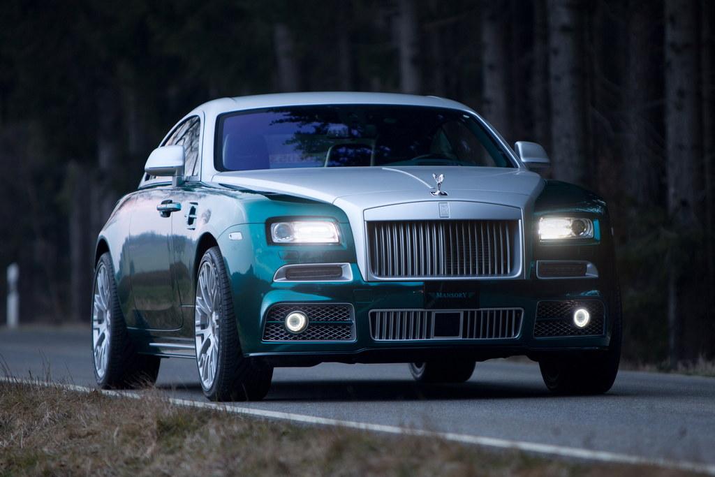 Geneva 2014: Mansory Rolls Royce Wraith