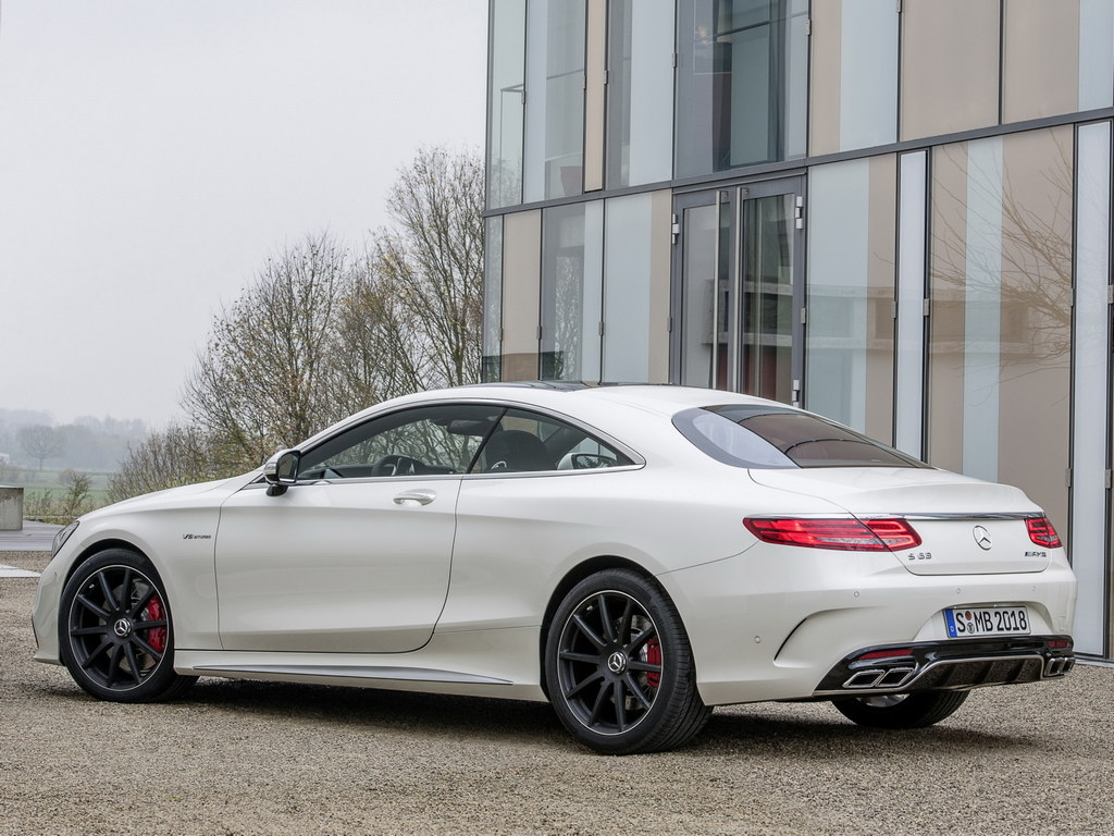 mercedes s63 amg coupe revealed with 585 hp