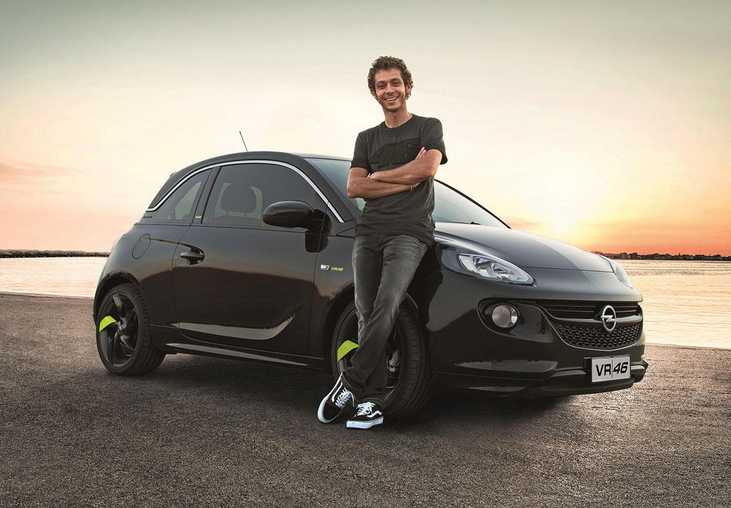 Opel Adam Vr46 Limited Edition Launched In Italy