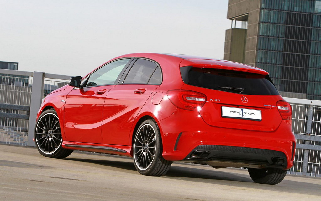 Posaidon Mercedes A45 Amg Comes With 445 Hp