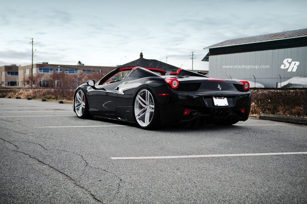 SR Auto Ferrari 458 Spider on PUR Wheels
