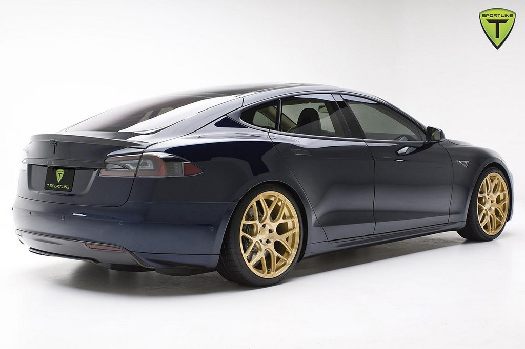 This 200k Tesla Model S Is The Blingiest Ev In The World