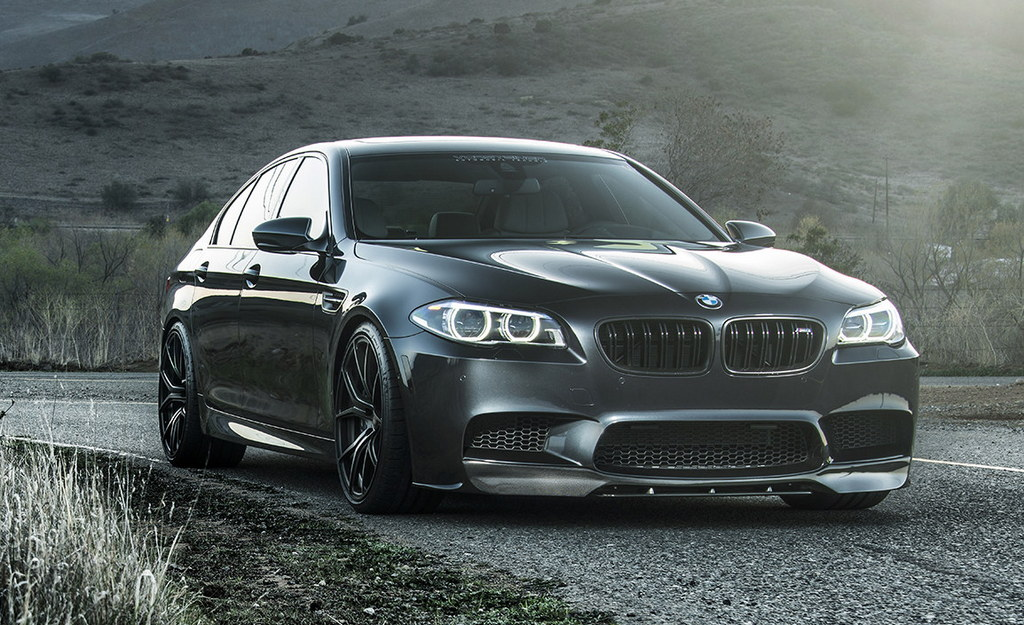 Vorsteiner Bmw M5 Gets Special Edition Wheels