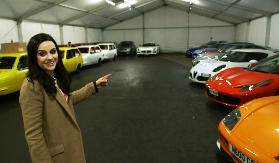 Who Owns Volvo >> Amy Macdonald Gives a Tour of Top Gear Supercar Garage