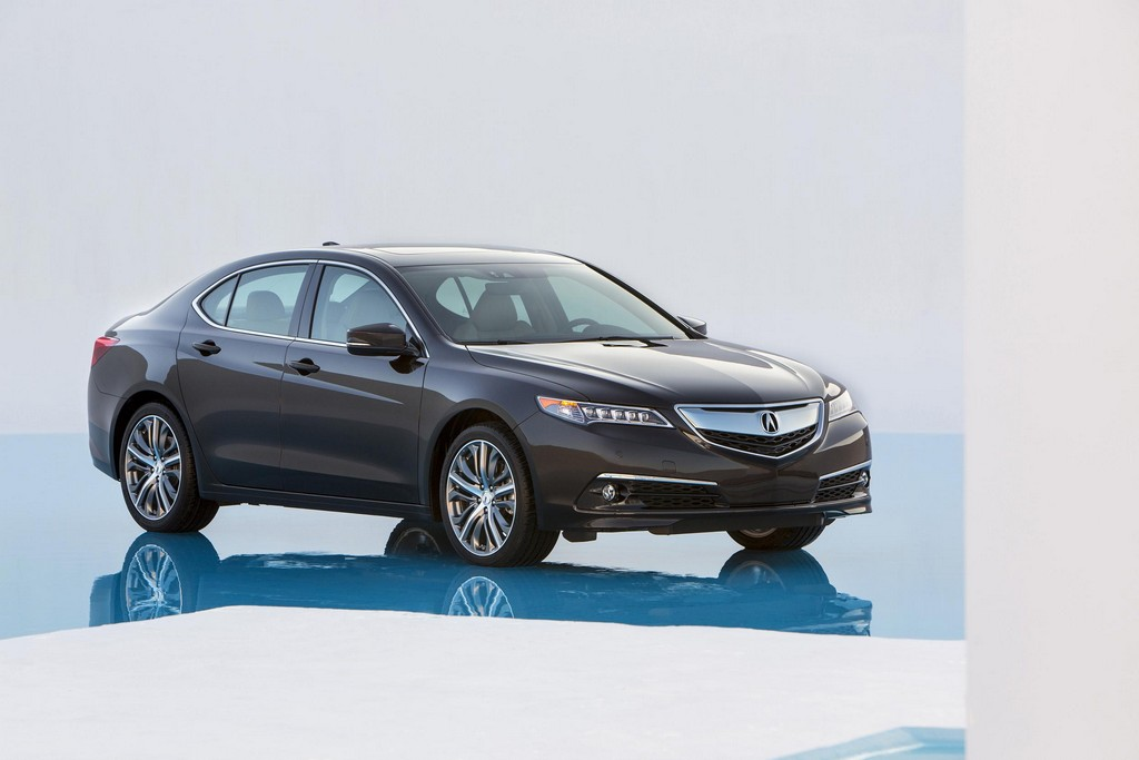 2015 acura tlx unveiled in new york. Black Bedroom Furniture Sets. Home Design Ideas