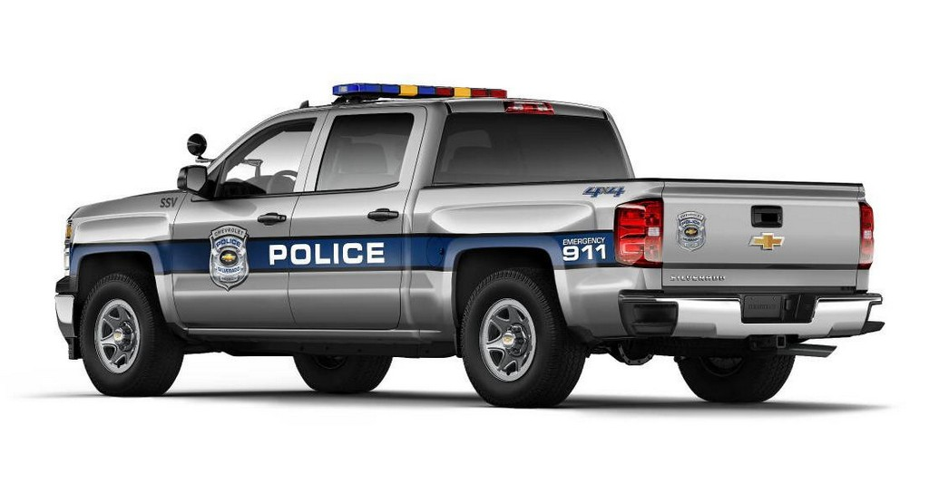 2015 Chevy Tahoe Police Package