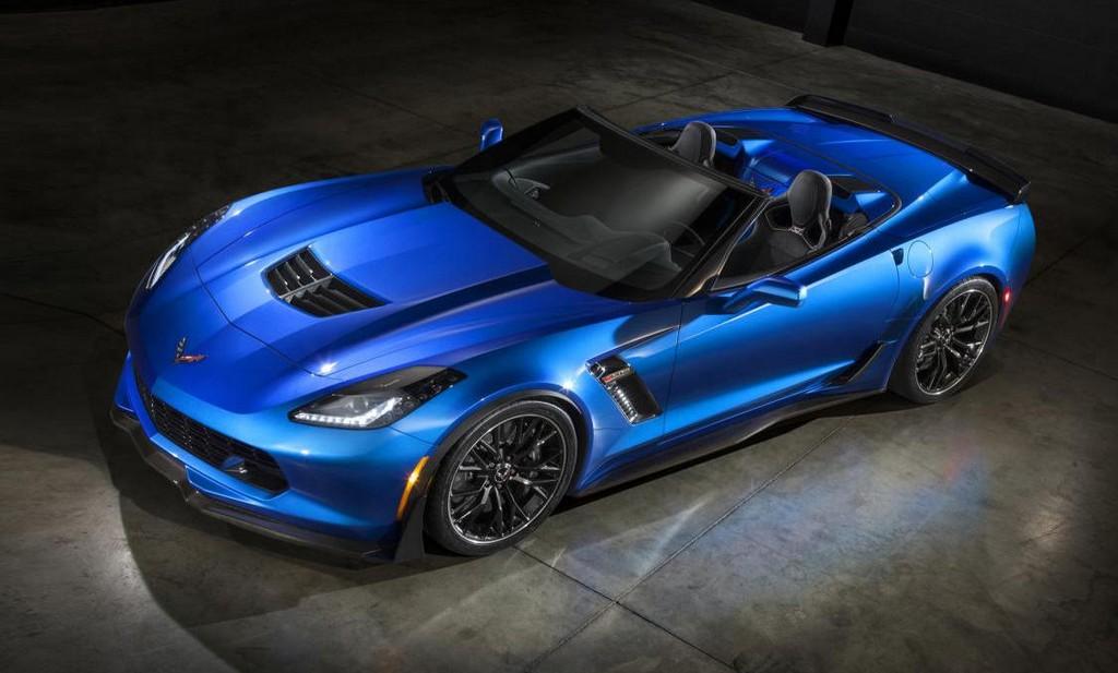 2015 Convertible Corvette 2015 corvette z06 convertible unveiled ahead