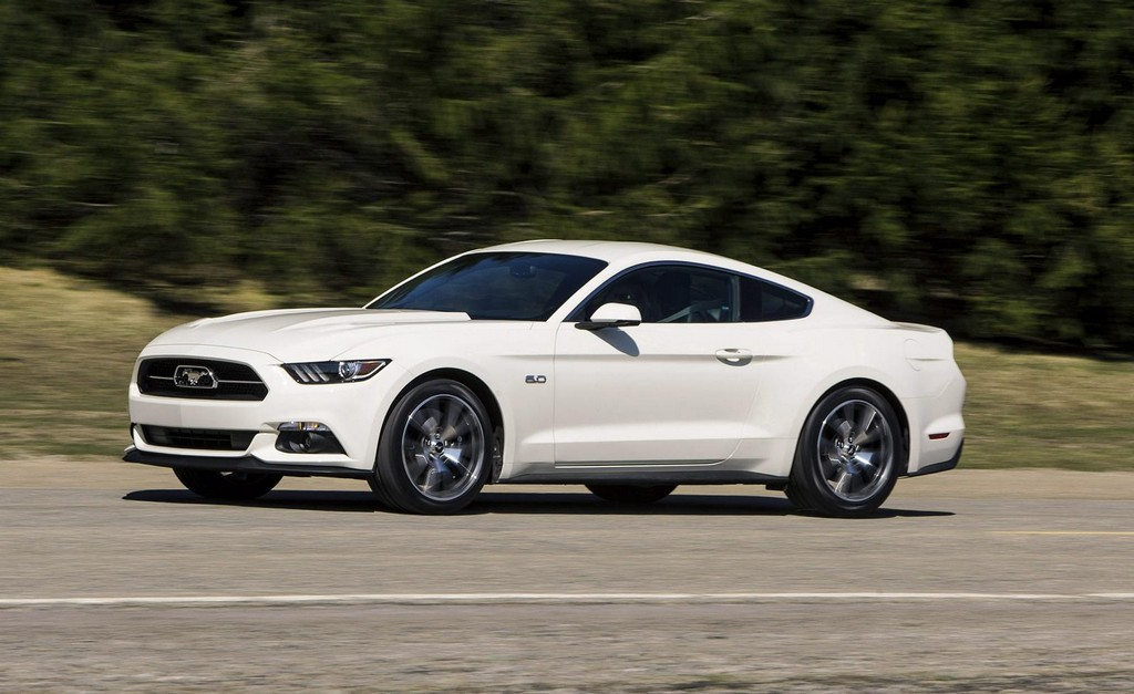 2015 ford mustang 50 year limited edition revealed. Black Bedroom Furniture Sets. Home Design Ideas