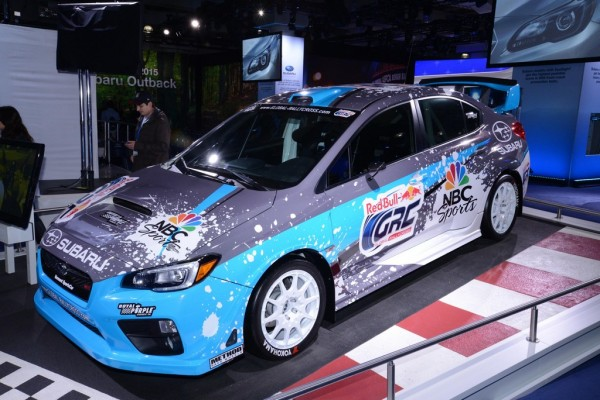 2015 Subaru Rallycross STI 0 600x400 at 2015 Subaru Rallycross STI Unveiled in New York